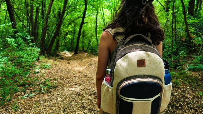 bagmaya-sustainable-travel-pro-trips-reusable-water-bottle-forest