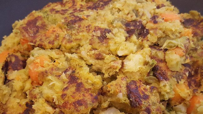 bubble and squeak sustainable breakfast during lockdown